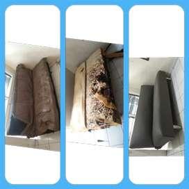 Ahli service sofa ganti kain/kulit panggilan bergaransi