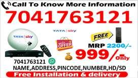 BEST BOX TATA SKY $ DISH TV $ AIRTEL TV 6 MONTH FREE CASH ON DELIVERY