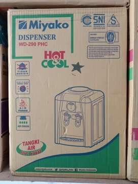 PROMO-DIANTAR SEYK-Dispenser GALON Miyako WD-290 PHC PANAS DINGIN BARU