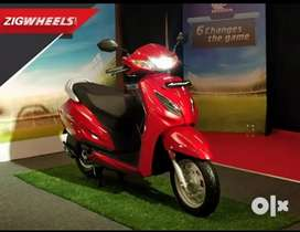 Just pay 10500 down payment on activa 6g std