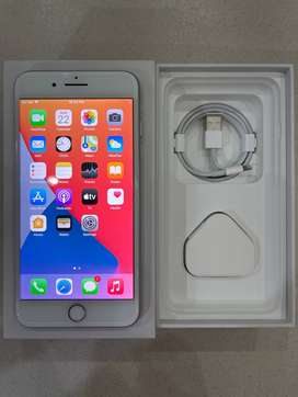 iPhone 8 plus in excellent condition at best price with box and all ac