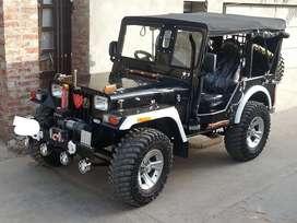 Modified Black shine paint jeep for sale