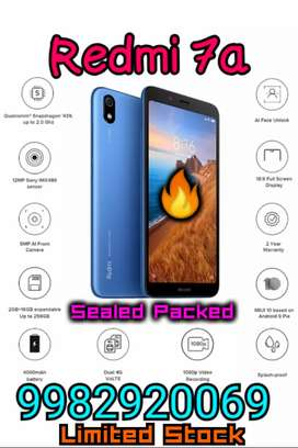 Redmi 7a 2gb 16gb Sealed Packed