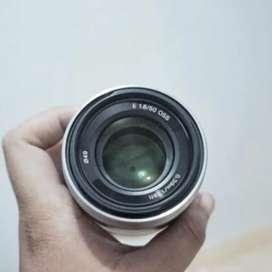 Lensa Sony 50mm f1.8 OSS Like New