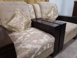7seater sofa nd tables for sale