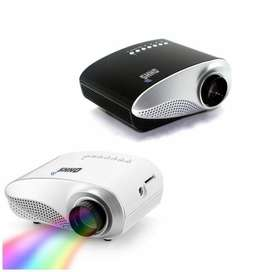 OHHS RD802 Mini LED Projector HDMI VGA SD USB
