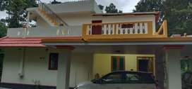 Non Flooded One acre prime land at Thadiyoor near Tiruvalla with House