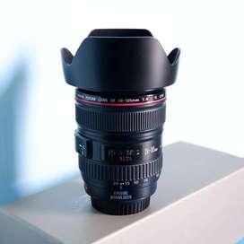 Lensa Wide Canon EF 24-105mm L IS USM