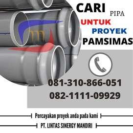 SUPLAYER PIPA PVC PAMSIMAS PANJANG 6 METER