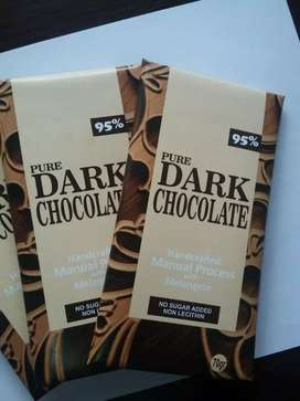 DARK CHOCOLATE-PURE 98%
