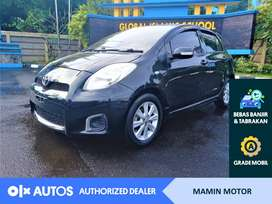 [OLX Autos] Toyota Yaris 2012 1.5 E A/T Bensin Hitam #Mamin Motor