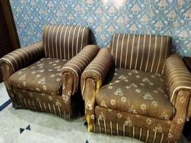 2 Seater Sofa Set Good Condition.