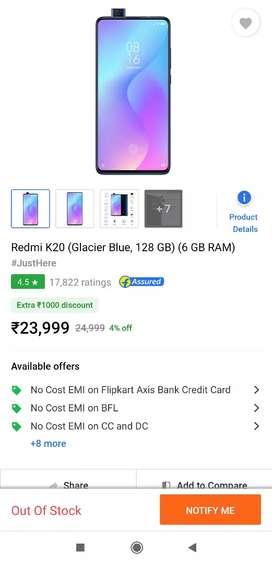 Redmi K20 6gb-128 Blue