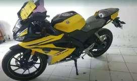 R 15 kuning mulus bro