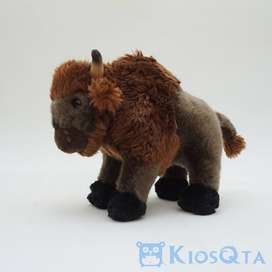 Boneka wildebeest boneka kambing tanduk JUL-09