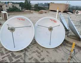 HD Satellite Dish Antenna Network Service Lahore All area just one car