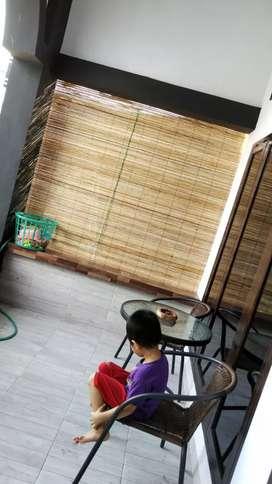 Tirai krey bambu 2×2