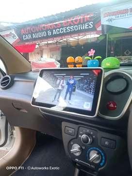 Autoworks exotic car//Head unit android Honda Brio 2013