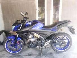 Vixion R 155cc Racing Blue 2017