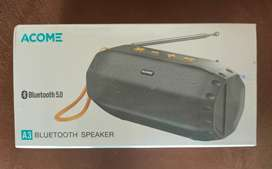 Acome Speaker bluetooth Super bass TWS 5W LED party
