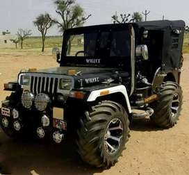 All type modified Jeep ready your booking