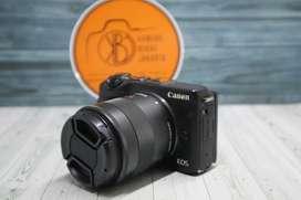 Canon m3 Hitam Murah Meriah