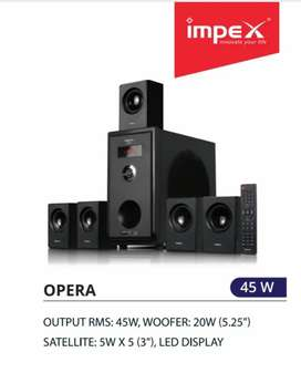 OPERA 5.1 Channel Multimedia Speaker System