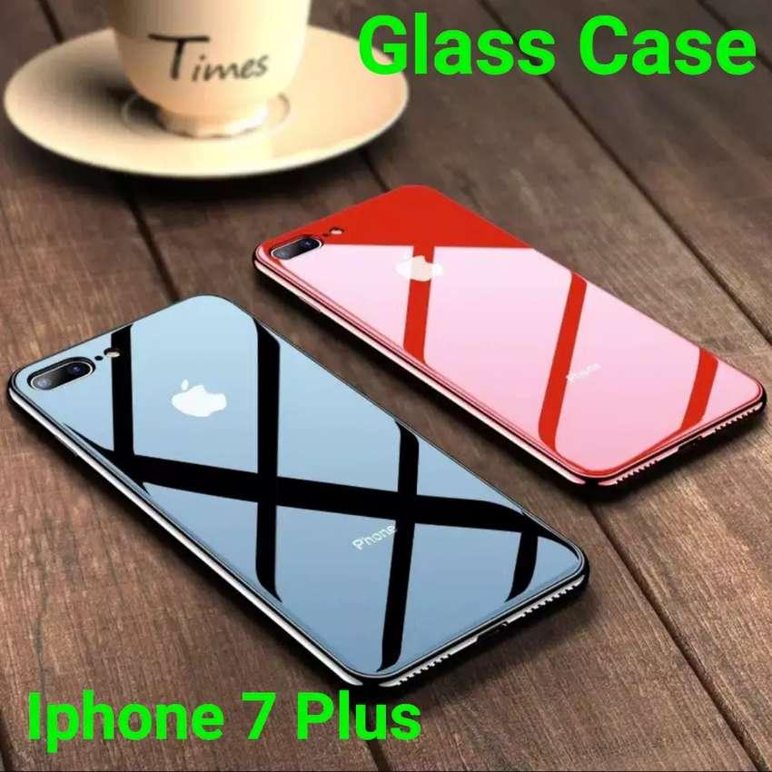 Glass Case Iphone 7 Plus Mewah bangettt 0
