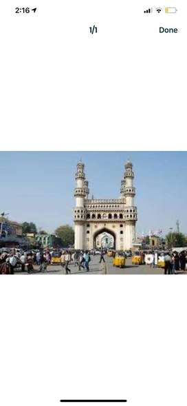 G+4 Commercial property at charminar for sale.