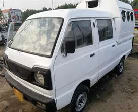 Changan gilgit double cabin with hood 11 seater Karachi number.