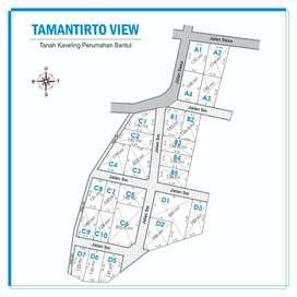 Tanah Kavling Tamantirto View Selatan Kampus UMY Cocok Dibangun Kost