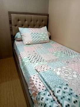 Disewakan Tahunan apartemen bassura city 2BR furnist Lux lantai rendah