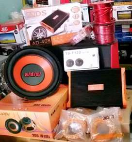 Harga plus pasang, Paket Audio ADS free Tweeter 1 set, Bass dijamin OK