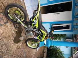 Klx L 2015 modif supermoto