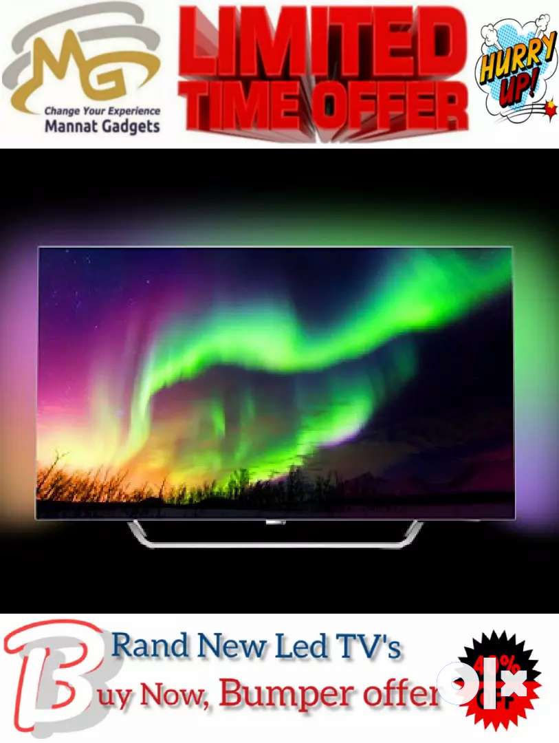 [Facebook, You Tube and more] 55 inch Smart LED TV 0