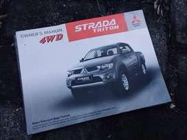 Book Manual Repro Ori Mitsubishi Strada Triton Awal Tahun 2012/2015