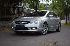 Honda Civic 1.8 Manual 2010 Facelift, Plat H, Pjk Baru, TER-MURAH!