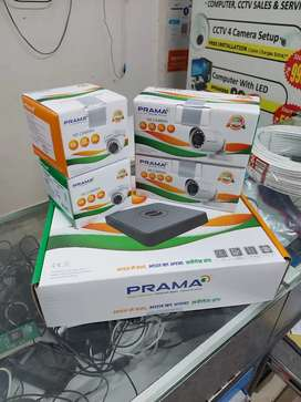 PRAMA HIKVISION CCTV CAMERA COMPLETE COMBO