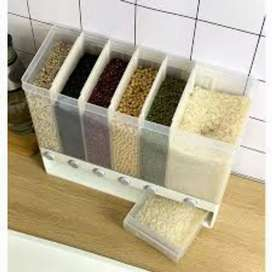 wall mounted rice storage