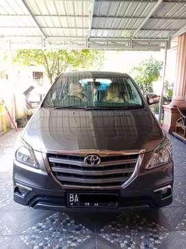 Toyota Kijang innova tipe G 2014