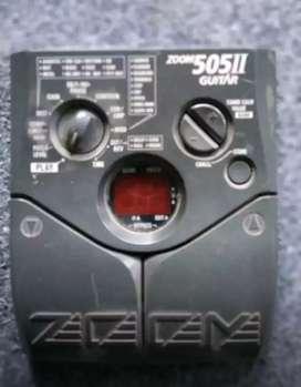 Efek Zoom 505 Japan + Adaptor (Minuse Modulasi Ga Fungsi)