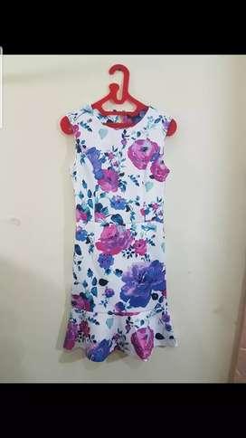 Dress bunga size S