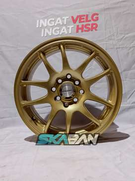 Velg racing HSR WHEEL Ring 15 Utk Mobil Vios, Mobilio, Swift