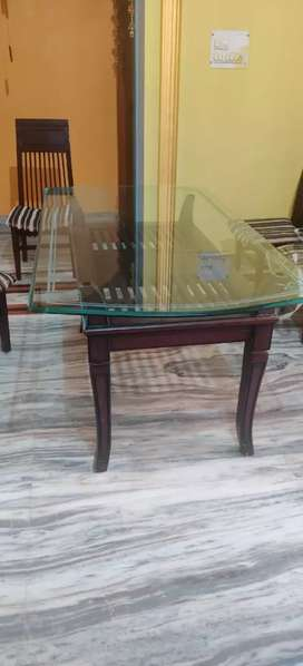 Dinning table with six chairs super quality