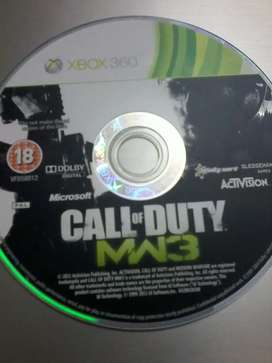 Xbox360 gameCall of duty modern warfare 3 for sale in good condition