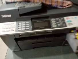 Printer with scanning and photocopy  facility