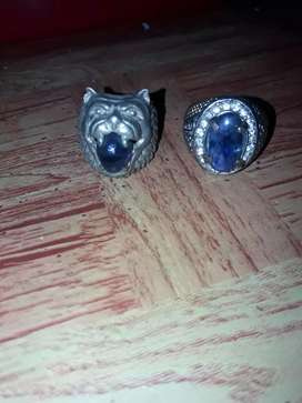 Safir blue ring
