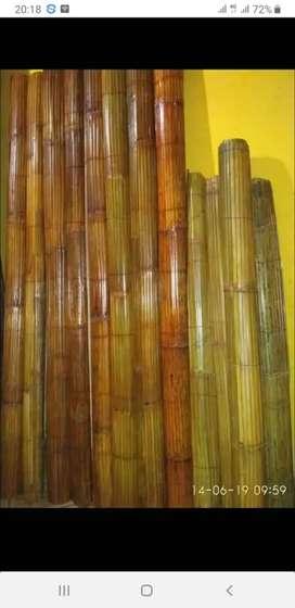 Tirai rotan,bambu isi,kulit,tirai kayu