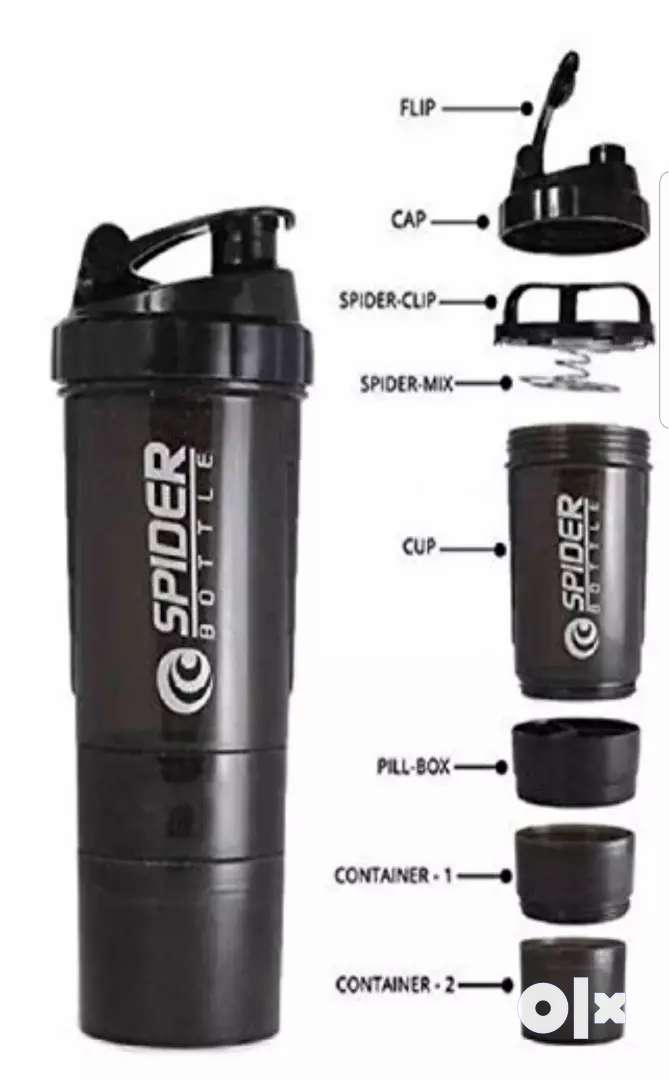 Gym Shaker and sipper bottle 0