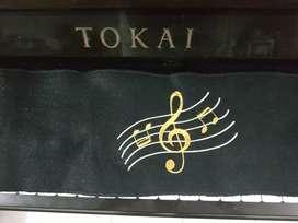 kain penutup tuts piano bordir u pelindung debu dan benturan stand bok
